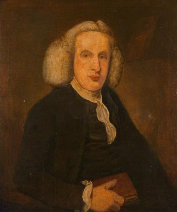Portrait of William Cullen. This is a copy of the portrait in Glasgow University by W. Cochrane.