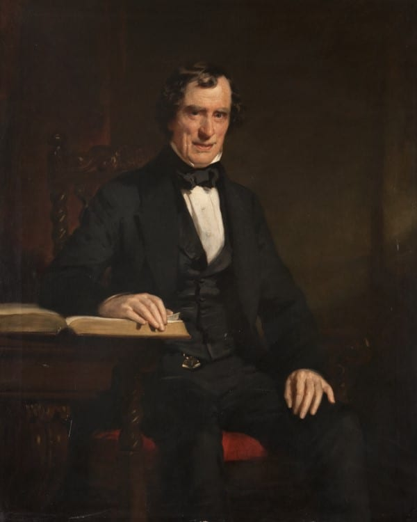 Portrait of James Wilson (1783-1857), founder of the Glasgow Maternity Hospital and first physician