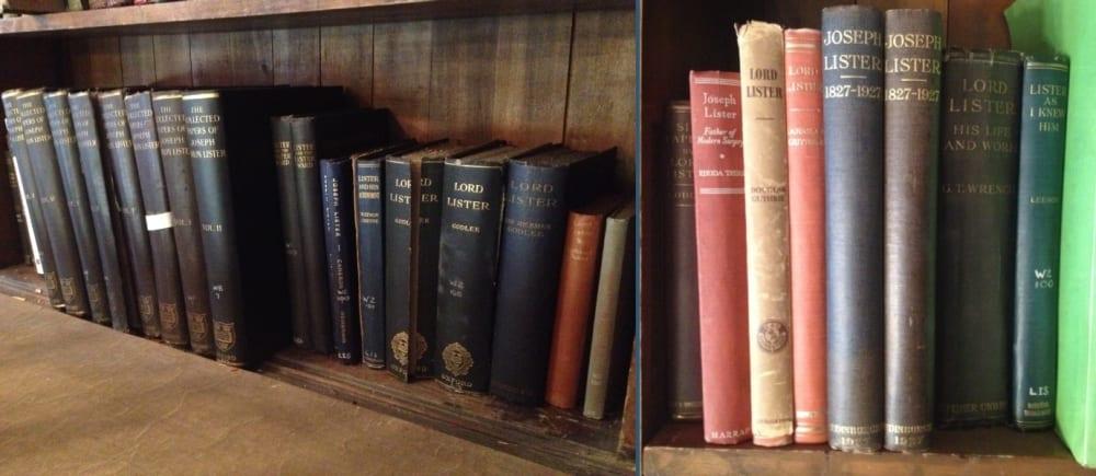 Biographies of Joseph Lister