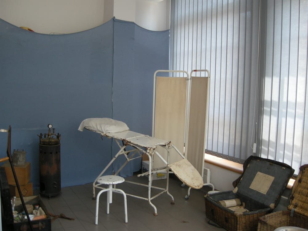 La salle d'operations