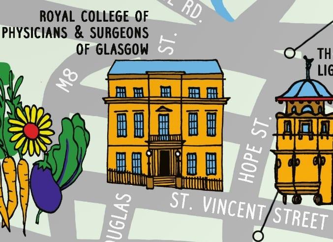 Illustration of College in the Doors Open Children's Programme