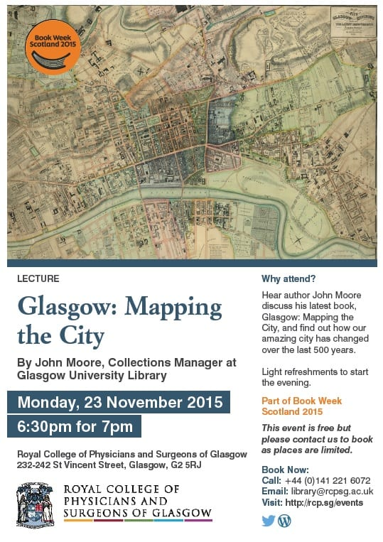 Glasgow: Mapping the City Poster