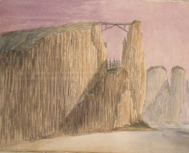 Buchanan's drawing of the Elbe.