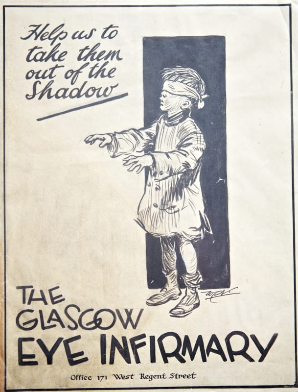 Fundraising poster n.d. first half 20th century