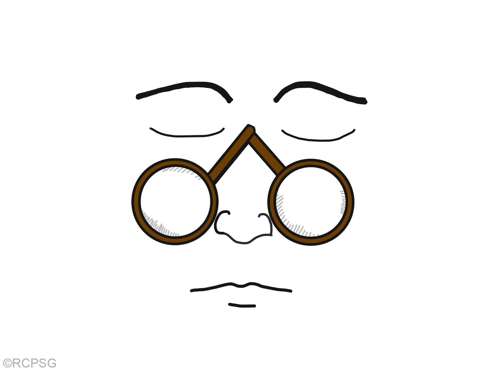 illustration of Rivet Spectacles