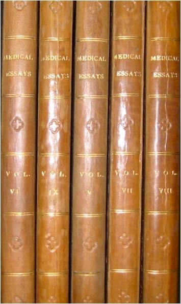 Glasgow Medical Society bound volumes of essays