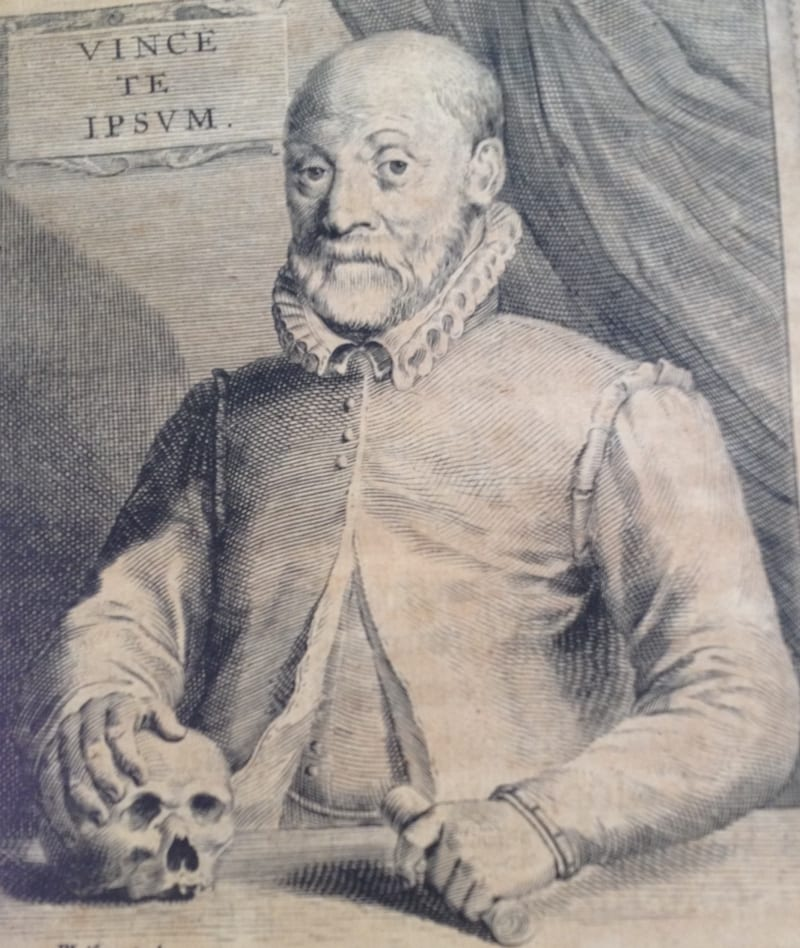 "Portrait of Johann Weyer from his ""Opera Omnia"" (1660)"
