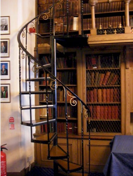 Lower Library stairs
