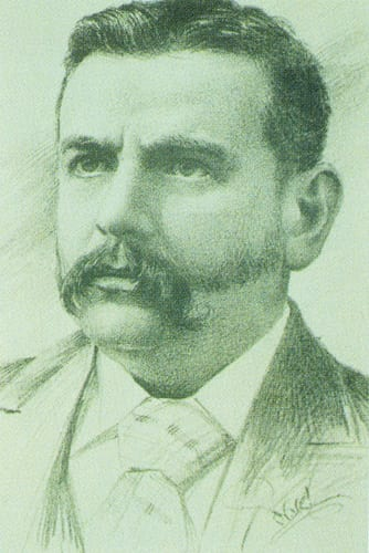 Sketch of Dr John Macintyre