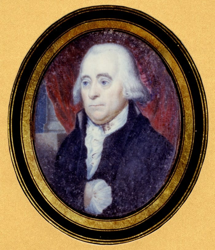Peter Wright (c 1740 to 1819), five times President of the Faculty of Physicians and Surgeons of Glasgow.