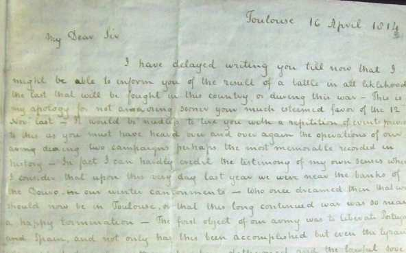 Letter to William Mackenzie