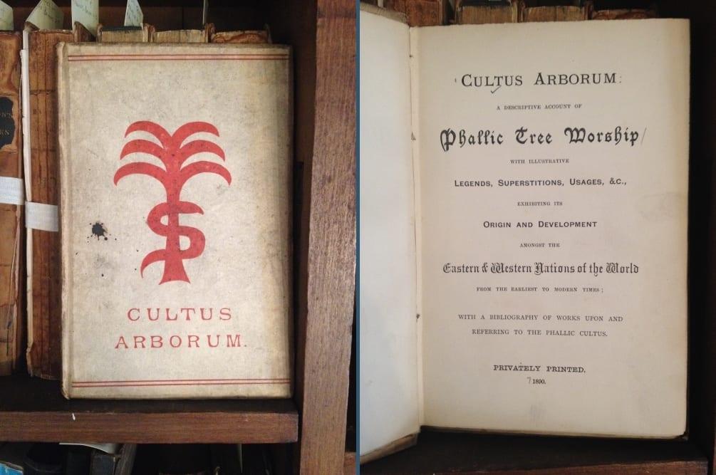 Cover & title page of Cultus Arborum