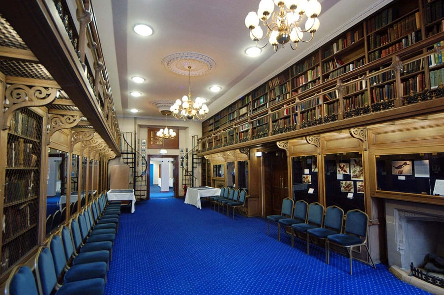 The Lower Library - just one of the many rooms to explore during Doors Open Day