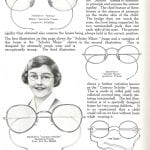 Spectacles in the catalogue of ophthalmic instruments and equipment, Hamblin's ophthalmological diary and year book, 1935.