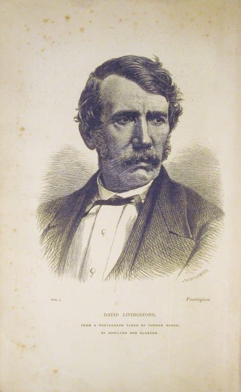 Portrait of David Livingstone taken from the Last Journals of David Livingstone, John Murray, 1874.