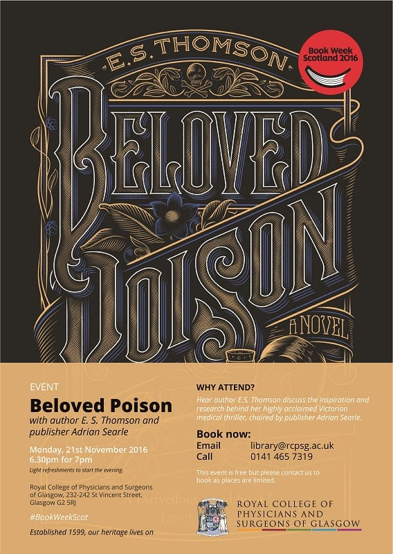 Flyer advertising Beloved Poison