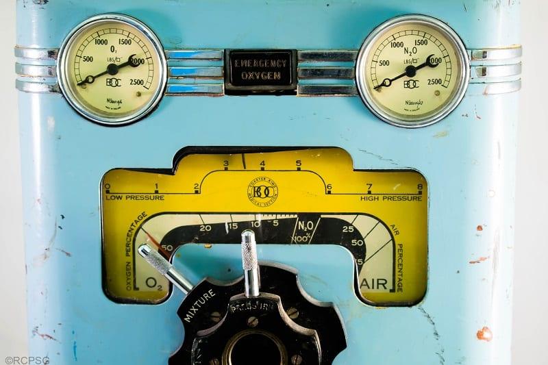 Portable anaesthesia apparatus